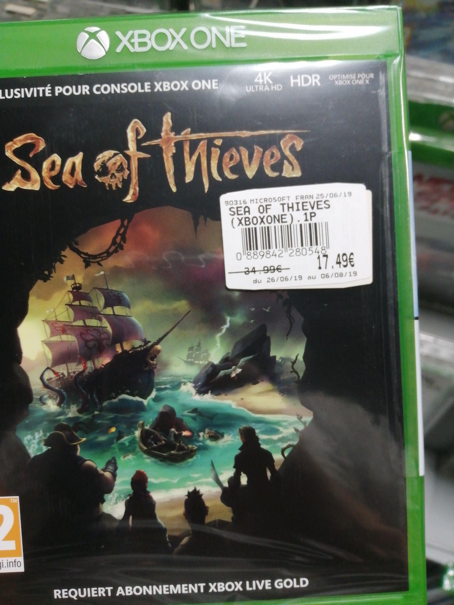 Sea of Thieves sur Xbox One - E.Leclerc Saint Sever Rouen (76)