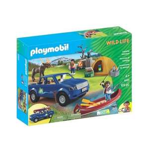 Sélection de coffrets Playmobil en soldes - Ex : Playmobil Wildlife 5669 Camping Adventure