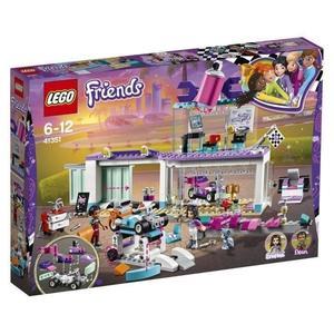 Jouet Lego Friends - L'atelier de customisation de kart (41351)