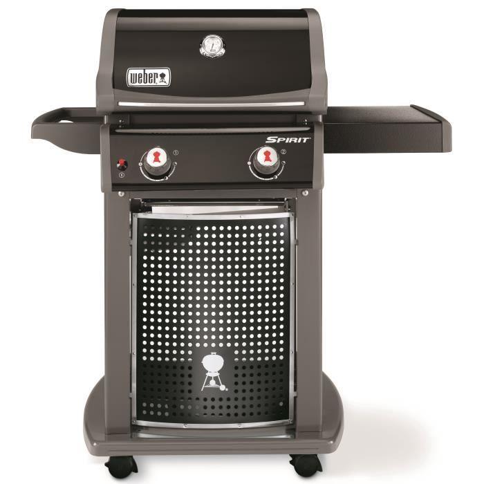 Barbecue à gaz Weber Spirit EO-210 - 2 brûleurs, Acier émaillé, Noir