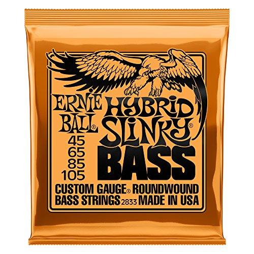 Jeu de cordes pour guitare basse Ernie Ball Hybrid Slinky 045