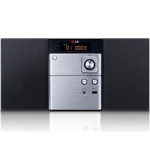 Micro-chaîne CD LG CM-1530 - 10 W - USB - Noir/Silver