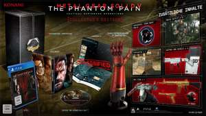 Metal Gear Solid V : The Phantom Pain - Edition Collector (Import Allemand) sur Xbox One à 79.46€ et PS4