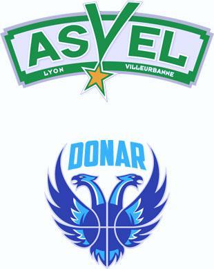 Billet pour le match de Basket Asvel vs Groningen (17 novembre à 20h)