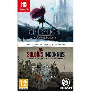 Compilation Child Of Light + Soldats Inconnus sur Nintendo Switch