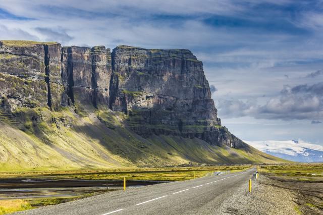 Vol Islande Paris Orly -> Reykjavík en Août 2016