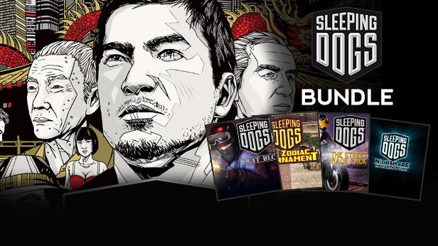 Sleeping Dogs Edition Limitée - Ultimate Bundle PC (Clé Steam)