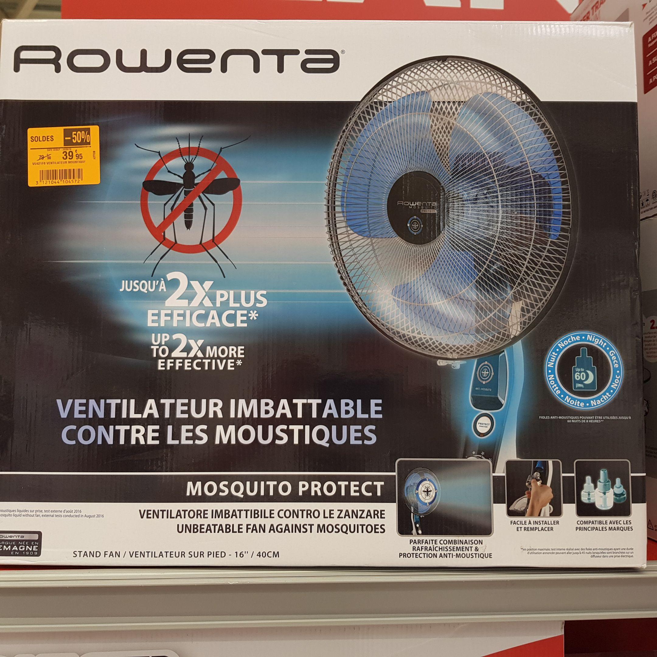 Ventilateur sur pied Rowenta Mosquito Protect - Ambérieu-en-Bugey (01)