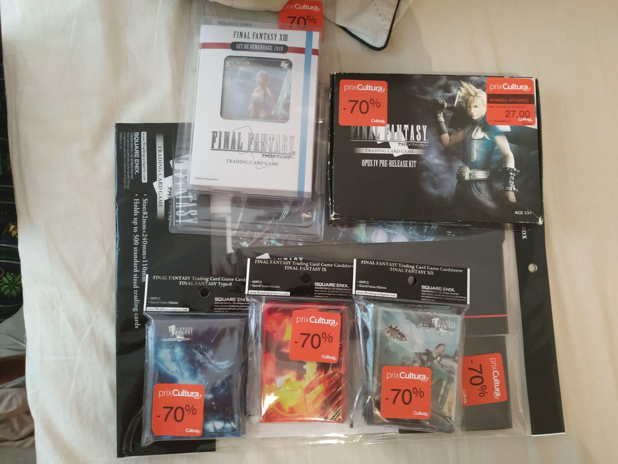 Sélection de Cartes et Accessoires TCG Final Fantasy en soldes - Cultura Balma Gramont (31)