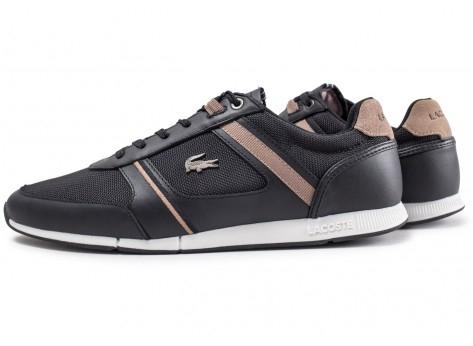 Chaussures Lacoste Manerva Noir et Beige - Taille au choix