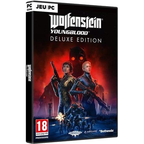 Sélection de jeux vidéo en promotion - Ex : Wolfenstein Youngblood - Édition Deluxe sur PC