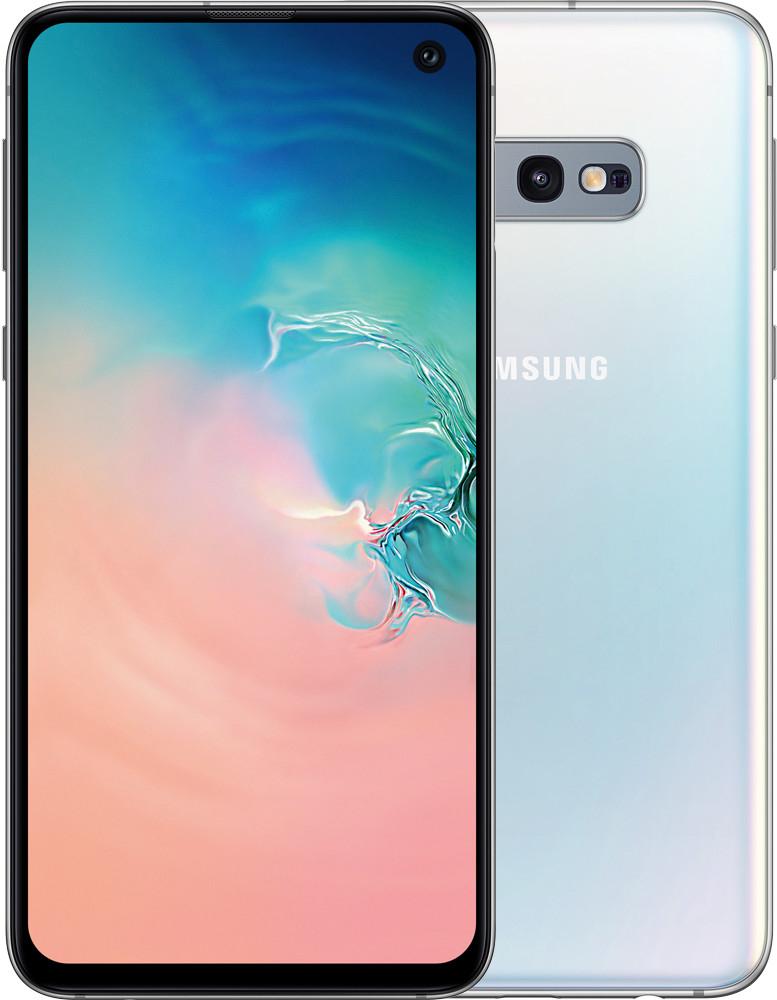 """Smartphone 5.8"""" Samsung Galaxy S10e - full HD+, Exynos 9820, 6 Go de RAM, 128 Go, blanc"""