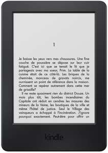 "Liseuse tactile 6"" Kindle Wi-Fi 4Go"