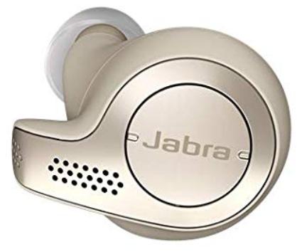 Écouteur gauche Bluetooth sport Jabra Elite 65T - Beige