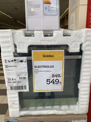 Four Electrolux EEC6610TOX - Classe A (Marzy 58)