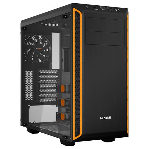 Boitier PC Moyen Tour Be Quiet ! Pure Base 600 avec Fenêtre - Noir / Orange