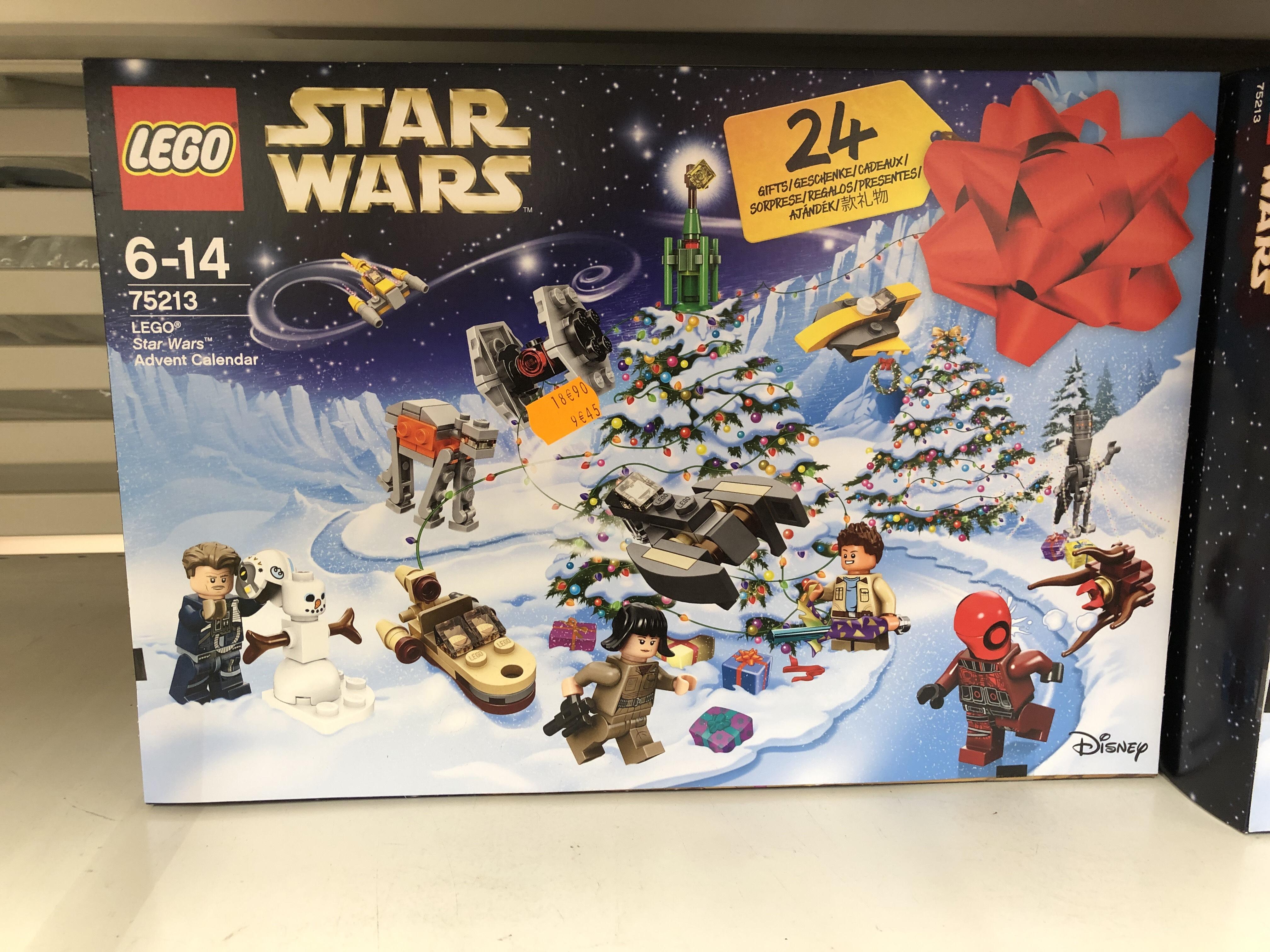 Sélection de produits Lego en soldes - Ex : Calendrier de l'Avent Lego Star Wars n°75213 - Carrefour Sens (89)