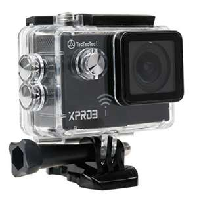 Caméra sport étanche TecTecTec XPRO3 -  Ultra HD 4K, Wifi (Vendeur tiers)