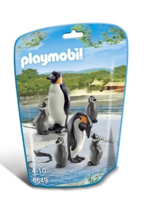 Jouet Playmobil - Famille de pingouins
