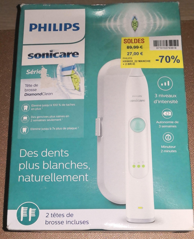 Brosse à Dents Electrique Philips Sonicare Série 3  HX6632/22 - Saint-Egrève (38)
