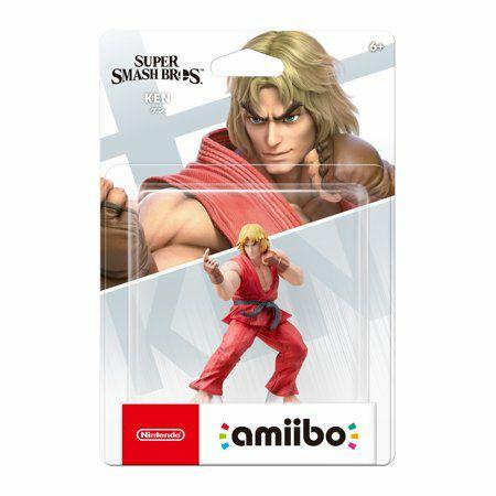 Figurine Ken Amiibo n°69 Super Smash Bros Ultimate pour Nintendo Switch