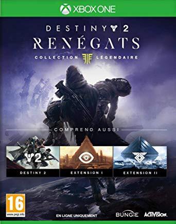 Destiny 2 Renégats Collection Légendaire sur Xbox One (via l'application)