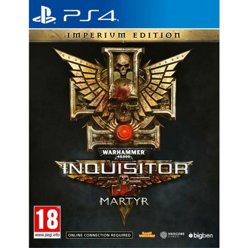 Warhammer 40000 Inquisitor - Edition Steelbook sur PS4