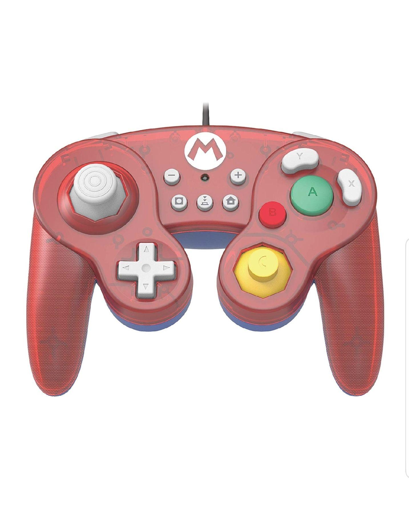 Manette filaire Hori Battle Pad (Mario) pour Switch