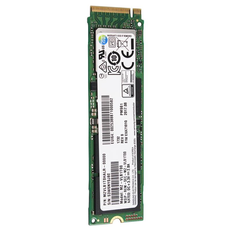 SSD interne M.2 NVMe Samsung PM981 ( 3D TLC V-NAND) - 512 Go