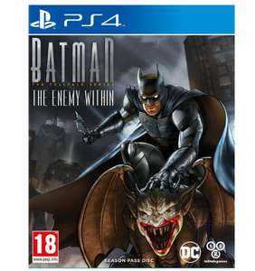 Batman: A Telltale Series 2 - L'ennemi Interieur sur PS4 (Via l'Application)