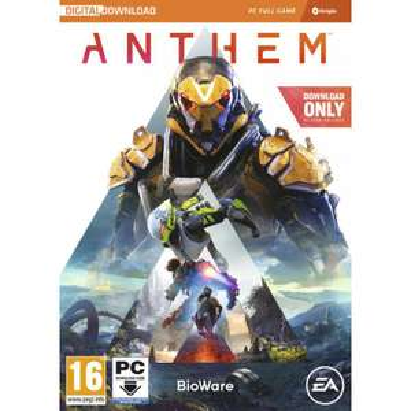 Anthem sur PC (via l'appli Micromania)