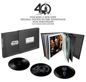 Coffret Triple Vinyle Star Wars Episode IV : A New Hope 40th Anniversary - Edition Collector limitée