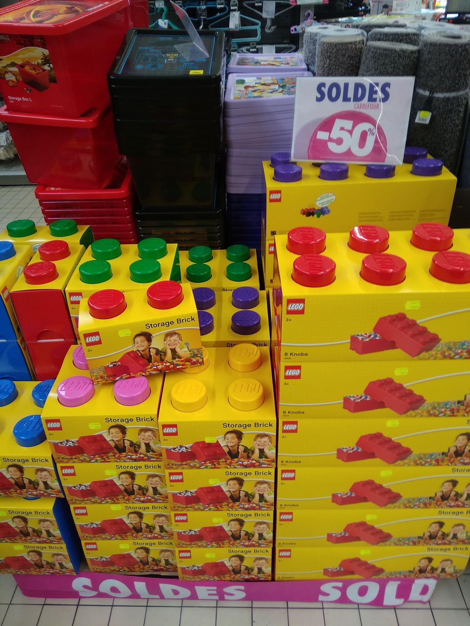 Boite rangement Lego (Plusieurs coloris) - Anglet (64)