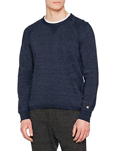 Sweat-shirt Homme Champion  - Bleu Marine (Taille L)