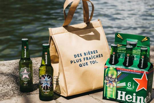 Pack de 6 Heineken 33 cl + 1 Glacière offerte - Île-de-France