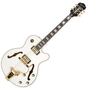 Guitare électrique Epiphone Swingster Royale Pearl White (Michenaud.com)