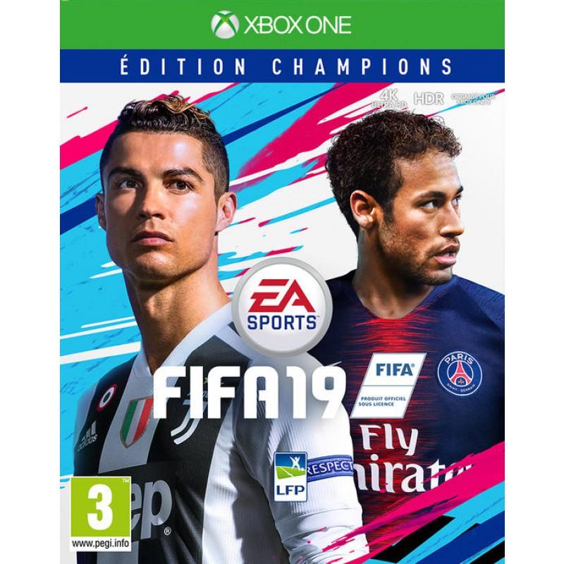 FIFA 19 Edition Champions sur Xbox One