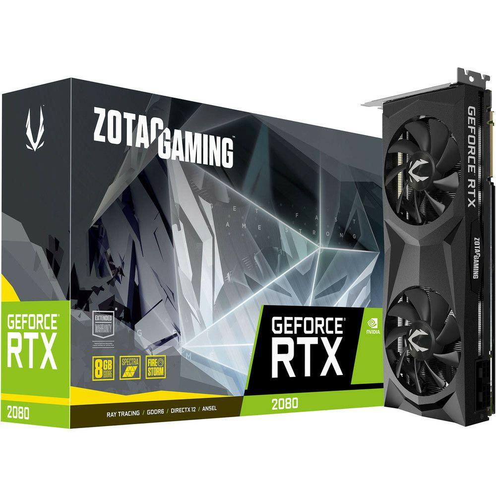 Carte graphique Zotac Gaming GeForce RTX 2080 Twin Fan - 8 Go