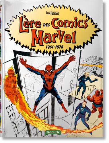 Sélection de livres d'art Taschen en promotion - Ex : L'ère des Comics Marvel de 1961 à 1978 (taschen.com)
