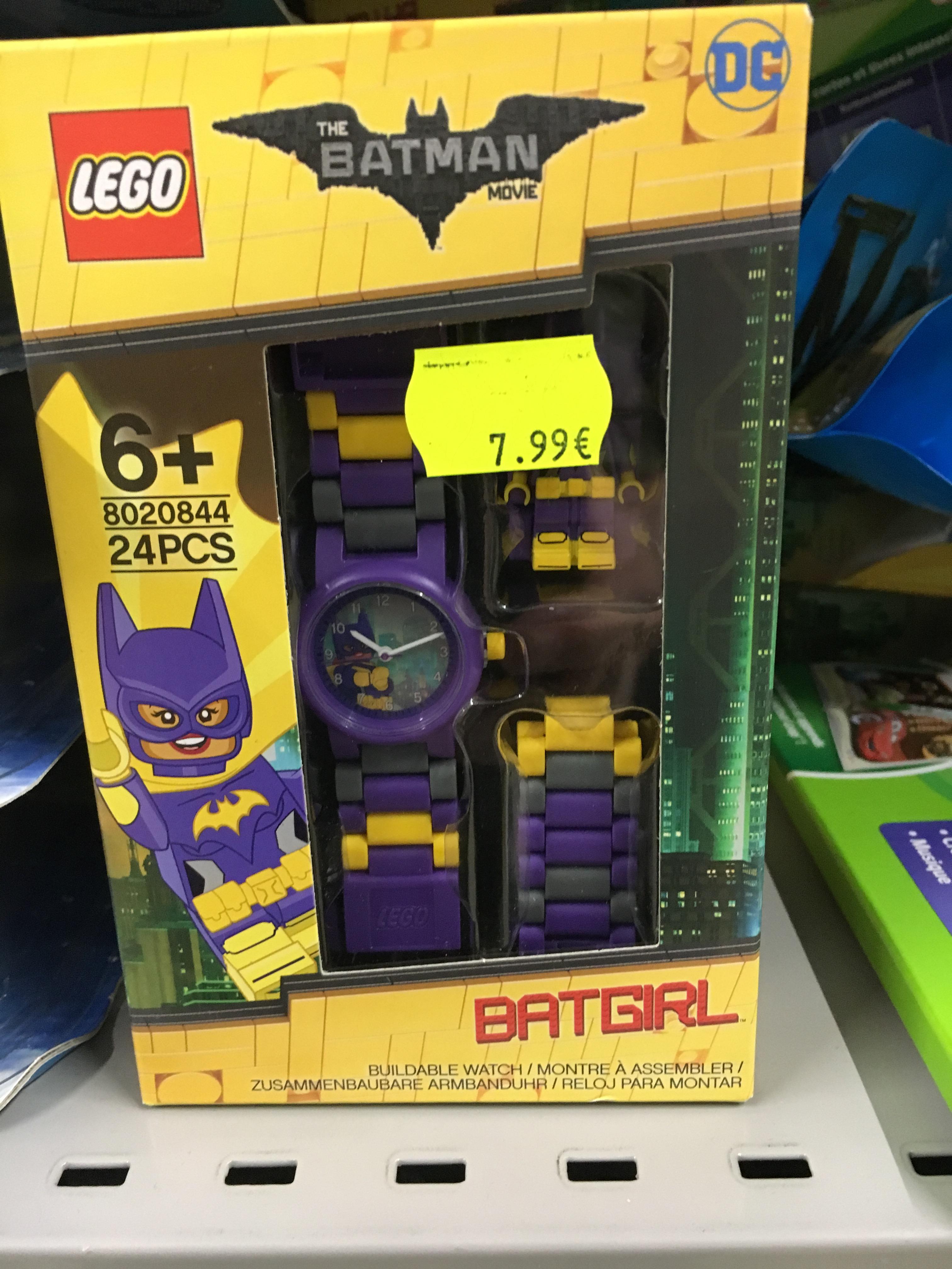 Montre figurine Batgirl de LEGO Batman 8020844 (Carcassonne 11)