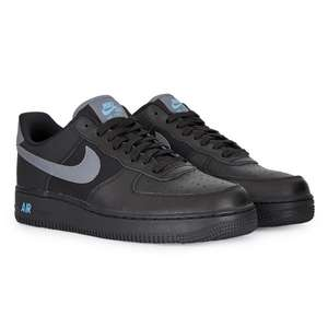 Baskets Nike Air Force 1 Low - Noir/Gris/Bleu