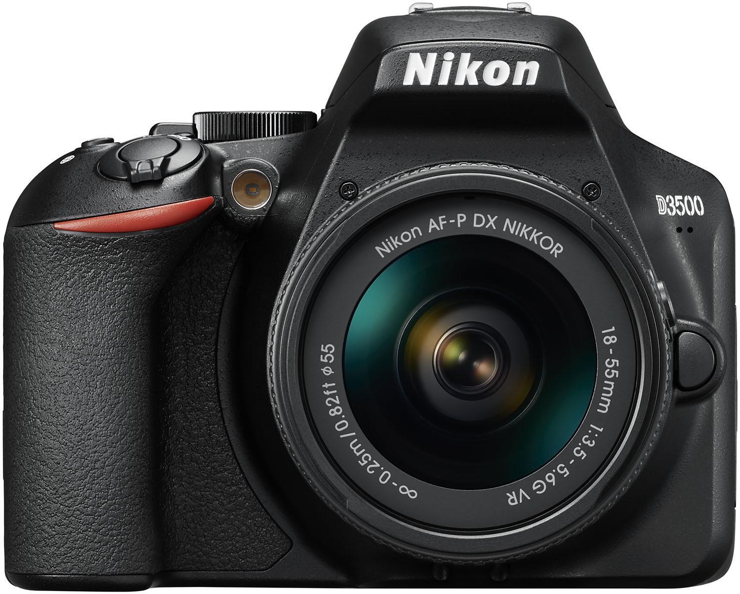 Kit appareil photo numérique Reflex Nikon D3500 (24.2 Mpix, CMOS) + objectif 18-55mm VR (vendeur tiers)