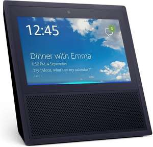 Assistant vocal Amazon Echo Show - noir (frontaliers Suisse)