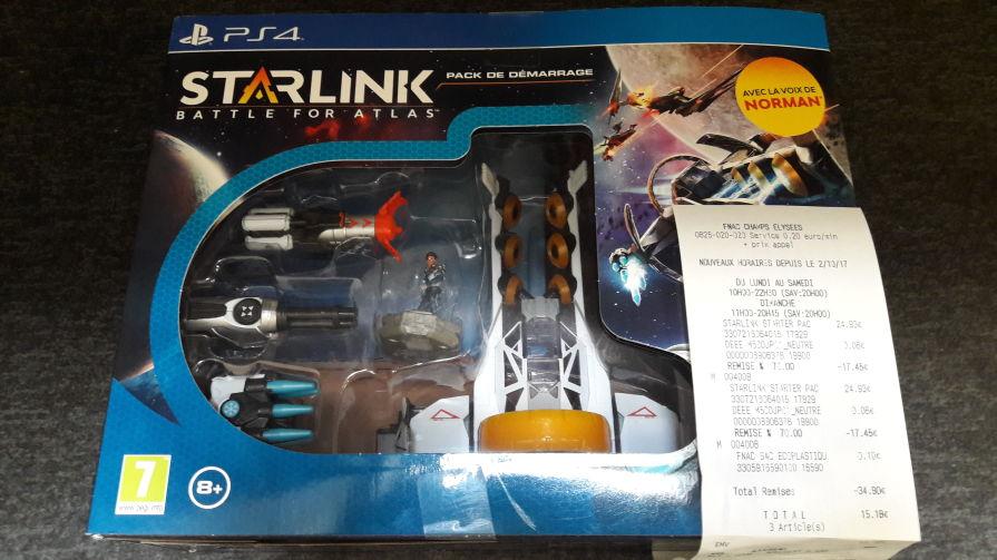 Pack de démarrage Starlink sur PS4 ou Xbox One - Champs Elysées (75)