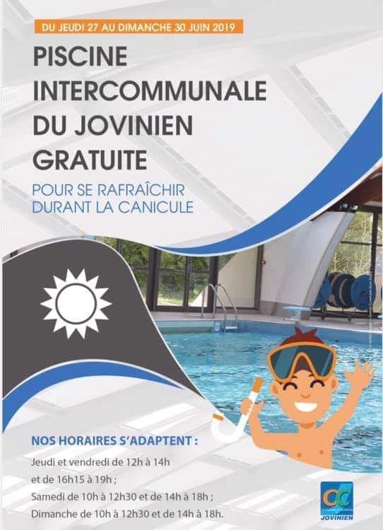 Accès Gratuit à la Piscine - Joigny (89)