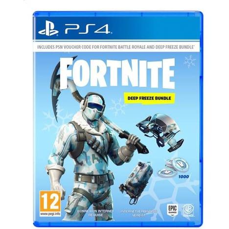 Fortnite Deep Freeze Bundle sur PS4