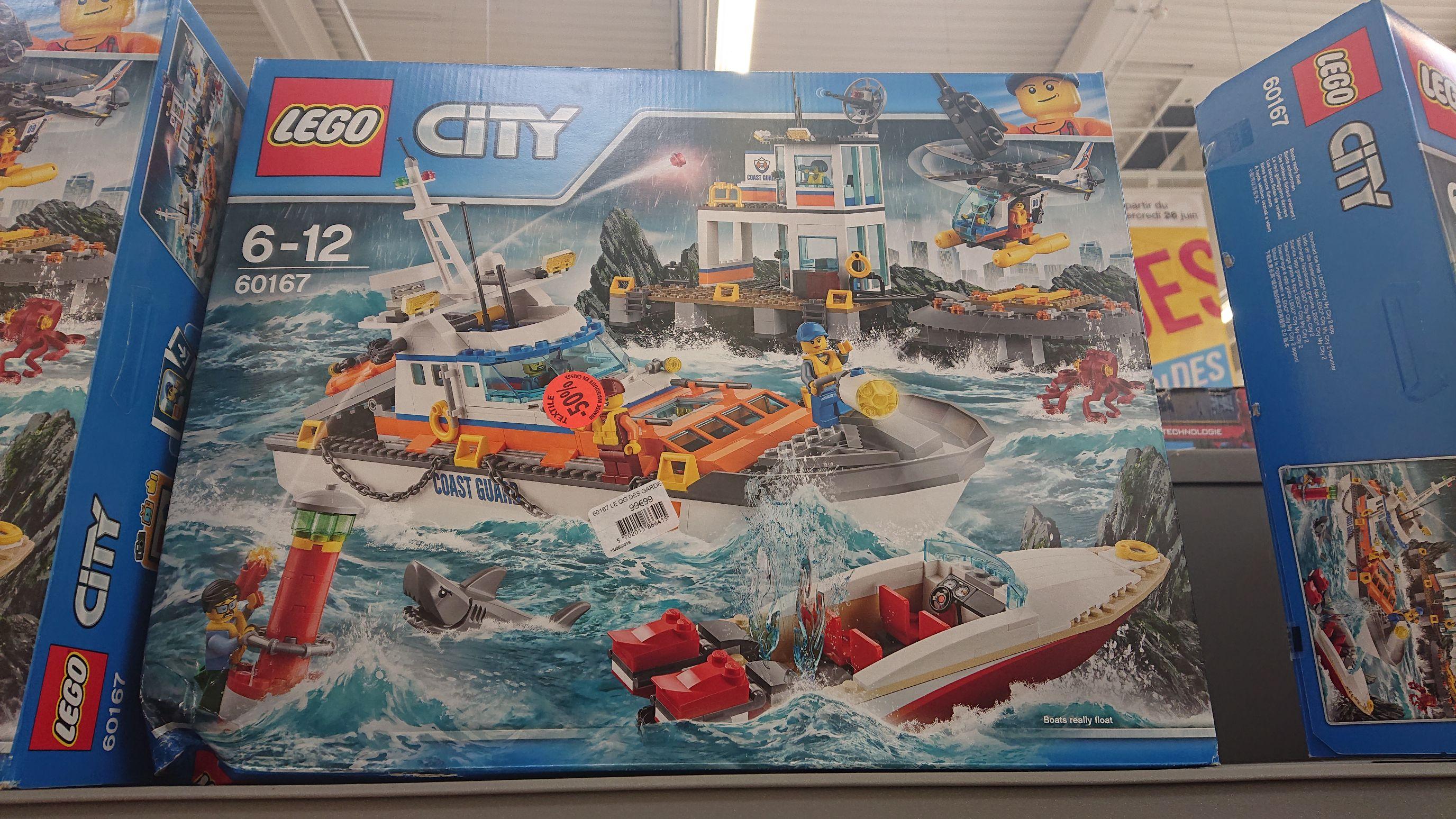 Jouet Lego City Le QG des garde-côtes 60167 - Wittenheim (68)