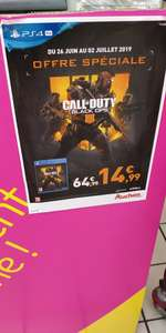 Call of Duty Black Ops 4 sur PS4  deal national