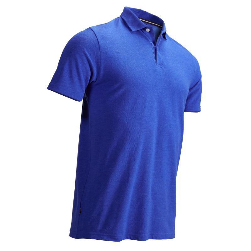 Polo de golf Inesis - bleu électrique (tailles L à XXXL)