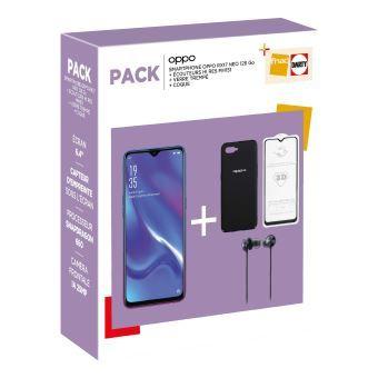 """Smartphone 6.4"""" Oppo Reno RX17 Neo - 128 Go + Écouteurs Hi-Res MH151 + Protection d'écran en verre trempé + Coque"""